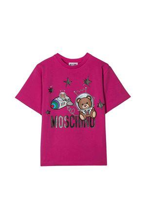 Moschino kids fuchsia t-shirt MOSCHINO KIDS | 8 | HSM029LBA1250323