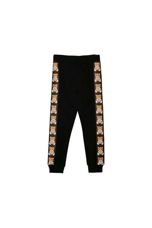 JOGGING PANTS NERO BAMBINO MOSCHINO KIDS MOSCHINO KIDS | 9 | HUP03BLDA1760100