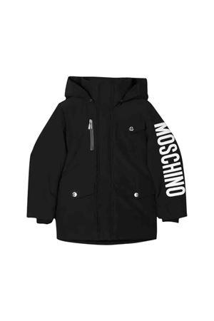 Black Moschino kids down jacket  MOSCHINO KIDS | 13 | HUS022L3A2360100