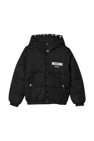 Black Moschino kids down jacket MOSCHINO KIDS | 13 | HUS023L3A2060100
