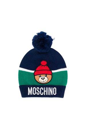 Blue Moschino kids cap  MOSCHINO KIDS | 75988881 | HUX00YLHE0940016