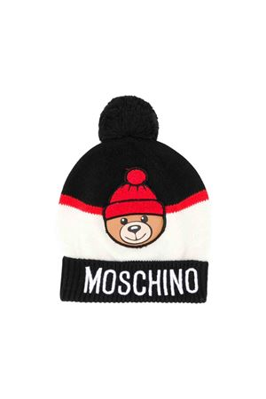 Berretto nero Moschino kids MOSCHINO KIDS | 75988881 | HUX00YLHE0960100