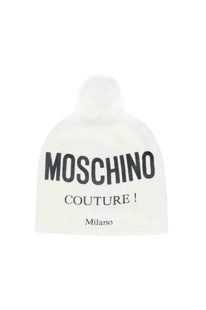 Berretto bianco Moschino kids MOSCHINO KIDS | 75988881 | HUX011LHE0910101