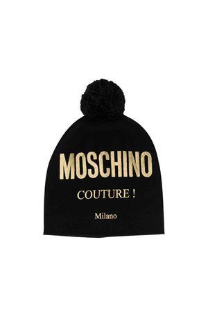 Black Moschino kids cap  MOSCHINO KIDS | 75988881 | HUX011LHE0960100