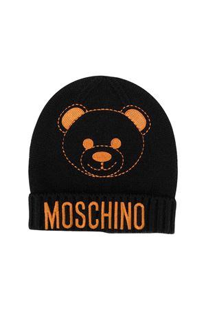 Black Moschino kids cap  MOSCHINO KIDS | 75988881 | HUX012LHE0960100