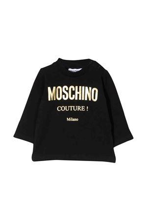 Felpa nera Moschino kids MOSCHINO KIDS | 8 | M6M01VLBA1260100