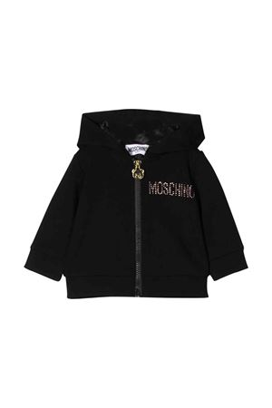 Moschino kids black sweatshirt  MOSCHINO KIDS | 13 | MDA000LJA0260100