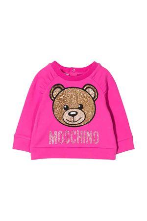 Moschino kids fuchsia sweatshirt  MOSCHINO KIDS | -108764232 | MDF01RLDA2050323