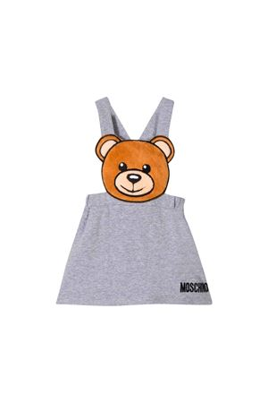 Gray dress Moschino kids MOSCHINO KIDS | 15 | MDJ00ULDA1760901