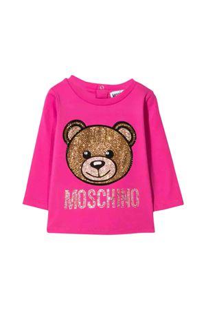 Moschino kids fuchsia t-shirt MOSCHINO KIDS | 8 | MDM02ILBA1450323