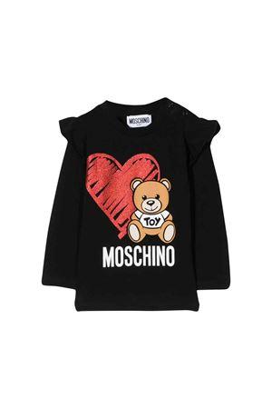 Moschino kids black sweater  MOSCHINO KIDS | 8 | MDM02KLBA1160100
