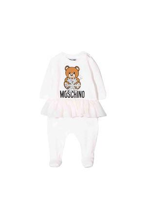 White Moschino kids baby suit  MOSCHINO KIDS | 5032327 | MDT00XLDA1410063