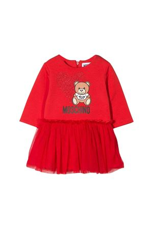 Red Moschino kids newborn dress MOSCHINO KIDS | 11 | MDV07ILDA1650109