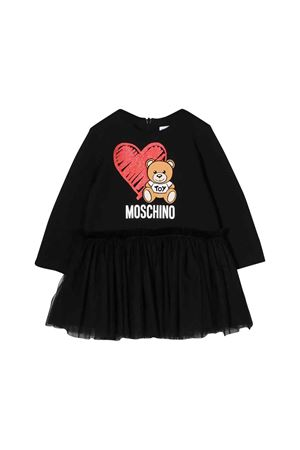 Black Moschino kids newborn dress MOSCHINO KIDS | 11 | MDV07ILDA1660100