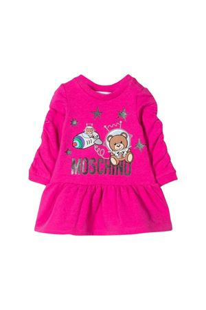 Newborn Moschino kids fuchsia dress MOSCHINO KIDS | 11 | MDV07KLDA1750323