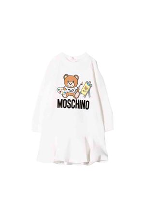 Moschino kids white newborn dress MOSCHINO KIDS | 11 | MDV07MLDA1410063