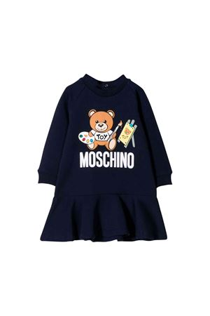 Midnight blue Moschino kids dress  MOSCHINO KIDS | 1190342119 | MDV07MLDA1440016