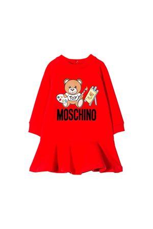 Abito rosso Moschino kids MOSCHINO KIDS   11   MDV07MLDA1450109