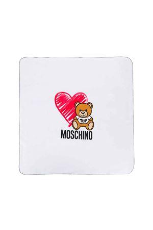 WHITE BABY BLANKET MOSCHINO KIDS  MOSCHINO KIDS | 69164127 | MMB005LDB1684190