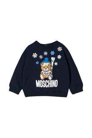 Felpa blu scuro Moschino kids MOSCHINO KIDS   -108764232   MMF02ZLDA1440016
