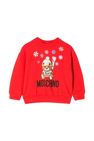 Felpa rossa bambino Moschino kids MOSCHINO KIDS | -108764232 | MMF02ZLDA1450109