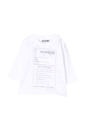 White Moschino kids t-shirt MOSCHINO KIDS | 8 | MMM025LAA1010101