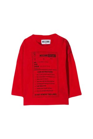 Red Moschino kids T-shirt MOSCHINO KIDS | 8 | MMM025LAA1050109