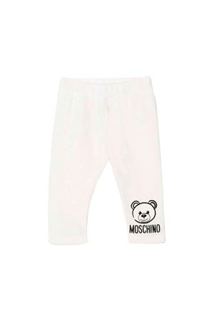 WHITE PANTS BABY MOSCHINO KIDS  MOSCHINO KIDS | 9 | MMP02RLDA1710063