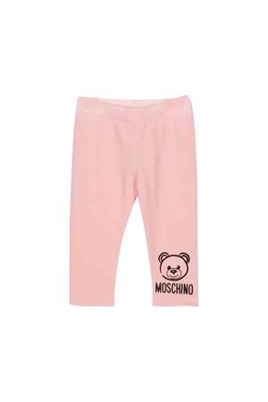 Pink Moschino kids pants MOSCHINO KIDS | 9 | MMP02RLDA1750209