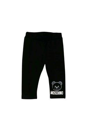 BLACK MOSCHINO KIDS PANTS  MOSCHINO KIDS | 1239780619 | MMP02RLDA1760100