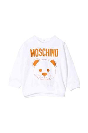 White Moschino kids sweatshirt  MOSCHINO KIDS | -108764232 | MNF02ZLDA1610101