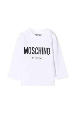 Moschino kids white t-shirt MOSCHINO KIDS | 8 | MNM01VLBA1210101
