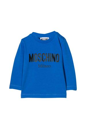 Moschino kids blue sweatshirt  MOSCHINO KIDS | 8 | MNM01VLBA1240295