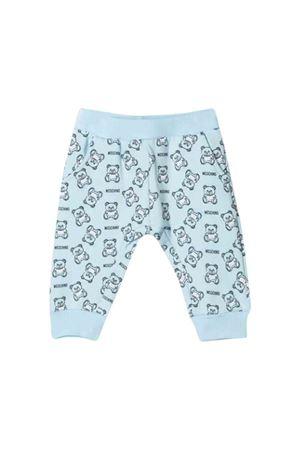 Moschino kids blue light trousers MOSCHINO KIDS | 9 | MNP02ILDB2384905