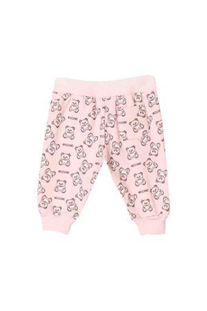 Moschino kids pink trousers  MOSCHINO KIDS | 9 | MNP02ILDB2384906