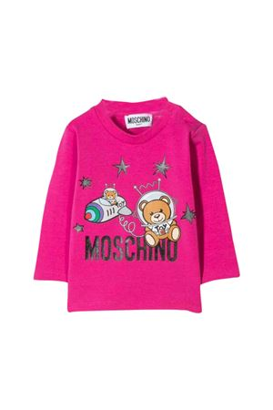 Fuchsia T-shirt Moschino kids  MOSCHINO KIDS | 8 | MOM01VLBA1250323