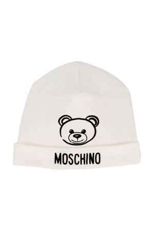 Moschino Kids white baby cap MOSCHINO KIDS | 75988881 | MPX031LDA1710063