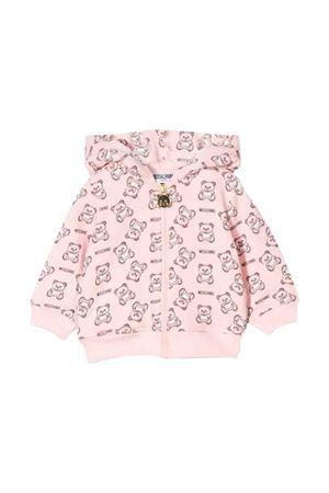 Moschino kids pink sweatshirt  MOSCHINO KIDS | 5032280 | MQF00QLDB2384906