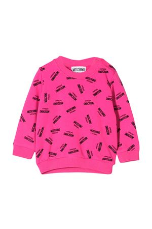 FUCSIA SWEATER MOSCHINO KIDS  MOSCHINO KIDS | -108764232 | MQF02PLDB1783225