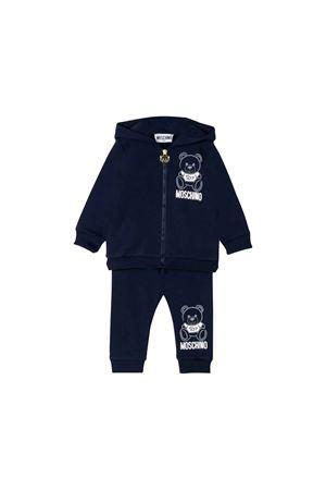 Newborn blue suit moschino kids MOSCHINO KIDS | 19 | MQK00GLDA1740016