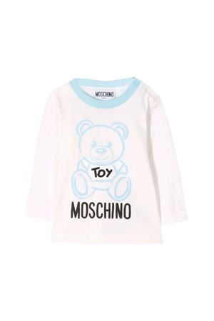 Light blue Moschino kids T-shirt MOSCHINO KIDS | 8 | MQM01VLAA1040304