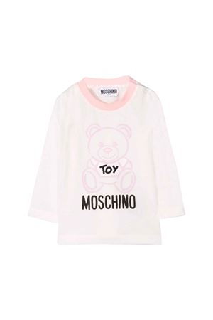 Light pink Moschino kids T-shirt  MOSCHINO KIDS | 8 | MQM01VLAA1050209
