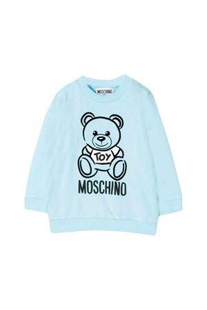 Moschino kids light blue sweatshirt  MOSCHINO KIDS | -108764232 | MRF02PLDA1740304