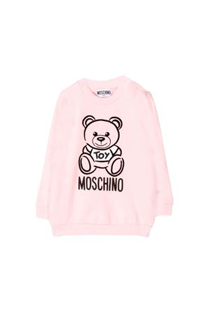 LIGHT PINK SWEATSHIRT MOSCHINO KIDS MOSCHINO KIDS | -108764232 | MRF02PLDA1750209