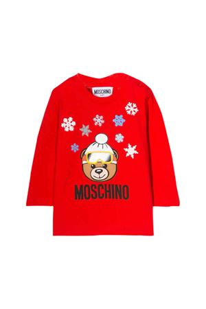 Moschino kids red t-shirt MOSCHINO KIDS | 8 | MRM01VLBA1150109
