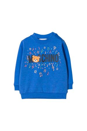BLUETTE SWEATER MOSCHINO KIDS  MOSCHINO KIDS | -108764232 | MSF02PLDA1740295