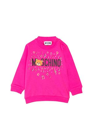 FUCSIA MOSCHINO KIDS SWEATER  MOSCHINO KIDS | -108764232 | MSF02PLDA1750323