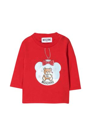 Moschino kids red T-shirt  MOSCHINO KIDS | 8 | MSM01VLBA1150109
