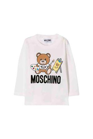 T-shirt bianca Moschino kids MOSCHINO KIDS | 8 | MTM01VLAA1010063
