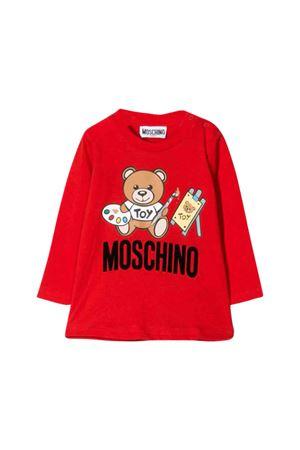 Red Moschino kids t-shirt  MOSCHINO KIDS | 8 | MTM01VLAA1050109